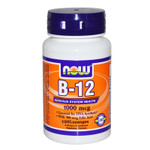Now Foods Chewable B-12 1000mcg with Folic Acid Sample Pack 4 Count