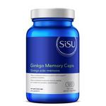 Sisu Ginkgo Memory Caps 120 Veg Caps | 777672011657