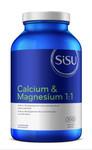 Sisu Calcium & Magnesium 1:1 with 300 capsules | 777672011442