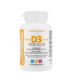 Prairie Naturals Vitamin D3 1000 IU Softgels 90 Softgels