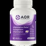 AOR Inflammation Relief 60 Liquid Capsules | SKU: AOR-1167-0001 | UPC: 624917440027