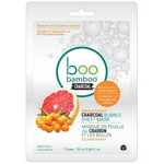 Boo Bamboo Bubble Mask Brightening | Single 776629102455 | 12 Pack 776629102452