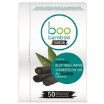 Boo Bamboo Charcoal Blotting Linens 50 Counts | 776629102417