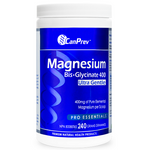 CanPrev Magnesium Bis-Glycinate 400 Ultra Gentle Powder 240g | 886646501978