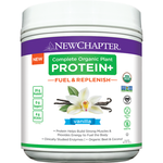 New Chapter Complete Organic Plant Protein+ Fuel & Replenish Vanilla 435   727783101907