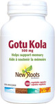 New Roots Herbal Gotu Kola 500mg 100 Veg Capsules| 628747108294