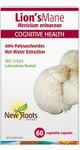 New Roots Herbal Lion's Mane 60 Veg Capsules | 628747118682