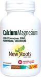 New Roots Herbal Calcium Magnesium Citrate with Zinc, Potassium, Selenium | 628747107846