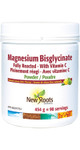 New Roots Herbal Magnesium Bisglycinate with Vitamin C Powder Natural Lemon Lime Flavour | 628747023801