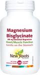 New Roots Herbal Magnesium Bisglycinate 200mg - 240 caps   628747124027