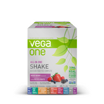 Vega One All In One Nutritional Shake Box of 10 Single Packs Mixed Berry | 838766105314