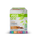 Vega One All In One Nutritional Shake Box of 10 Single Packs Vanilla Chai | 838766105338