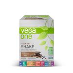 Vega One All In One Nutritional Shake Box of 10 Single Packs Mocha | 838766105446