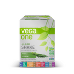 Vega One All In One Nutritional Shake Box of 10 Single Packs Natural | 838766105321