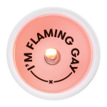 54 Celsius Message Candle I'm Flaming Gay | 857316000732
