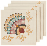 Now Designs Tommy Turkey Napkins Set of 4 | 064180275788
