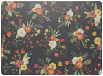 Now Designs Goldenbloom Cork-Backed Placemats Set of 4 | 064180275924