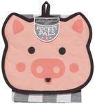 Now Designs Penny Pig Pocket Pals Kitchen Set of 2   64180268223