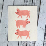 Now Designs Penny Pig Swedish Dishcloth | 64180268162