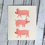 Now Designs Ecologie Swedish Sponge Cloth Penny Pig | 64180268162