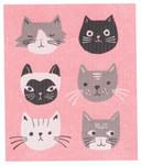 Now Designs Cats Meow Swedish Dishcloth   64180251454