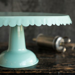 Now Designs Aqua Tin Cake Stand | 64180200001