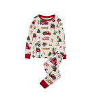 Little Blue House by Hatley Kids Pajama Set Country Christmas | 671374002275