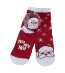 Little Blue House by Hatley Kids Socks in Ball Cheerful Claus  671374156817