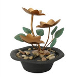 Relaxus Water Lilies Water Fountain    628949103530