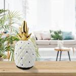 Relaxus Golden Pineapple Ultrasonic Aroma Diffuser | 628949071167