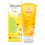 Weleda Baby 2 in 1 Gentle Shampoo and Body Wash 200ml | 4001638096515