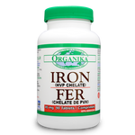 Expires December 2019 Clearance Organika Iron 45mg 90 Tablets