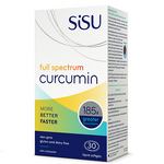 Sisu Full Spectrum Curcumin 30 Softgels| 777672041067