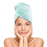 Relaxus Beauty Twist & Dry Quick Dry Hair Towel-Turquoise   REL-500917-T