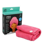 Relaxus Beauty Twist & Dry Quick Dry Hair Towel-Pink   REL-500917-P