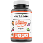 Herbaland Classic Gummy for Kids Vitamin C 60 Gummies | UPC: 813523000538