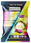 Herbaland Vegan Protein Gummies Fantastic Fruit 50g   813523000644