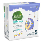 Seventh Generation Overnight Diapers - Stage 5 (27-35 lbs.) 20 count | 732913440696