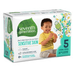 Seventh Generation Free & Clear Baby Diapers - Size Five 23 count |732913440641