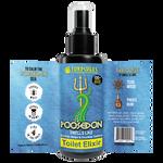 Turdcules Pooseidon Toilet Elixir 2 fl/oz Label