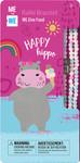 Me to We Safari Cute Critter Rafiki Bracelet- Happy Hippo | 628499071426