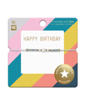 Me to We Wish Bracelets - Celebrate Collection-Happy Birthday Stripes | 628499080572