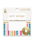 Me to We Wish Bracelets - Celebrate Collection-Happy Birthday Candels | 628499080541