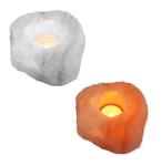 Relaxus Himalayan Salt Tealight Holder | L0150, 504016 | 628949101505, 628949140160