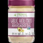 Primal Kitchen Garlic Aioli Mayo with Avocado Oil 355ml | 855232007200