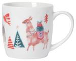 Now Designs 12 oz Porcelain Mug - Happy Llamadays | 064180293249
