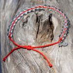 4Ocean Overfishing / Sustainable fishing Red Bracelet | 854600008122