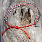 4Ocean Overfishing / Sustainable fishing Red Bracelet | 854600008122