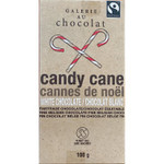 Galerie Au Chocolat White Chocolate With Candy Cane 100 g | 063783100244