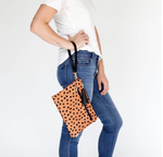 Logan and Lenora Convertible Clutch with Wristlet Strap Meow (DISCONTINUED)